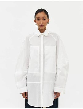 Elsie Boxy Long Sleeve Shirt by Lee Mathews Lee Mathews