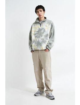 Iets Frans… Grey Tie Dye Quarter Zip Sweatshirt by Iets Frans...