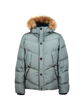 Quilted Hooded Jacket by Pretty Green
