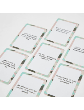 'you Got This' Inspirational Quote Cards by River Island