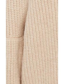 Raquel Ribbed Alpaca Blend Sweater by Ulla Johnson