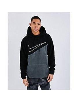Nike Swoosh Sherpa   Men Hoodies by Nike