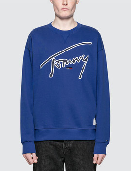Tommy Signature Sweatshirt by Tommy Jeans