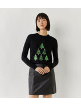 Christmas Tree Jumper by Warehouse