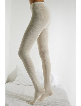 Urban Outfitters – Strukturierte Stick Strumpfhose by Urban Outfitters Shoppen