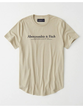 Short Sleeve Flock Graphic Tee by Abercrombie & Fitch