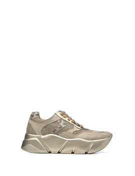 Voile Blanche Voile Blanche Monster Gold Sneakers by Voile Blanche