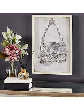 Glam Handbag Framed Picture by Dunelm