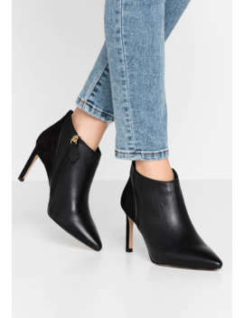 Meredith   Bottines à Talons Hauts   Black by Office Wide Fit