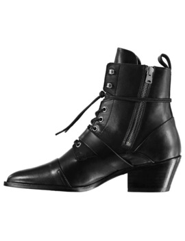 Katy Leather Ankle Boot by All Saints