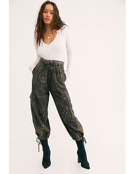 Fly Away Studded Parachute Pant by Free People