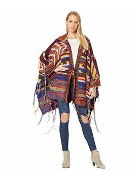 Follow The Arrow Poncho by Free People