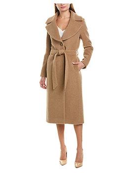 Cinzia Rocca Icons Alpaca & Wool Blend Coat by Cinzia Rocca Icons