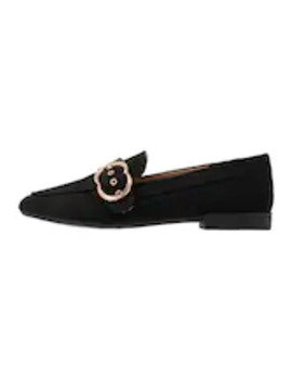 Wide Fit Lola Buckle Loafer   Slipper by Dorothy Perkins Wide Fit
