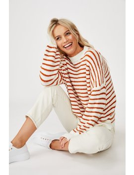 Slouchy Mock Neck Pullover by Cotton On