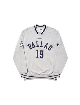 Palace Pallas Crew Grey Marl by Stock X