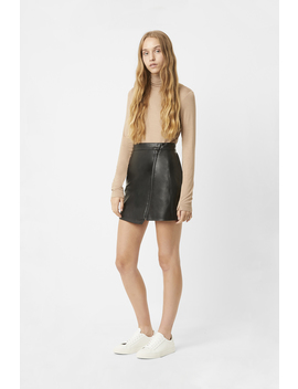 Arianna Pu Mini Skirt by French Connection