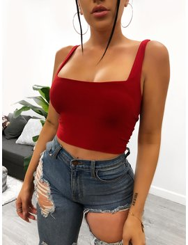 Karmina Top (Red) by Laura's Boutique