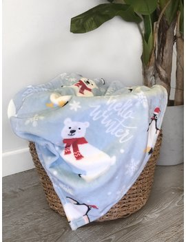 Seasonal Blankets by Laura's Boutique