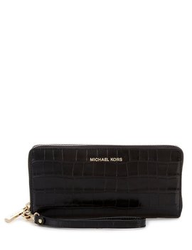 Travel Leather Continental Wallet by Michael Michael Kors