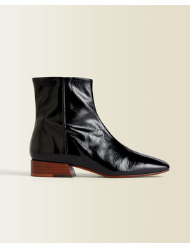 Anson Leather Ankle Boot by Jigsaw