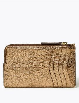 Metallic Leather Coin Purse by Marks & Spencer