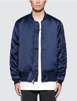 Charmeuse Bomber Jacket by              Stampd