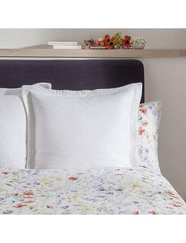 Dorma Wildflower Matalasse Continental Square Pillowcase by Dunelm