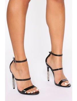 Seductive Heeled Sandals   Black by Fashion Nova