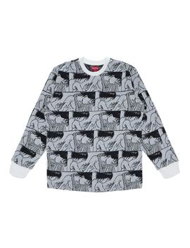 Supreme Akira Syringe Jacquard L/S Top White by Stock X
