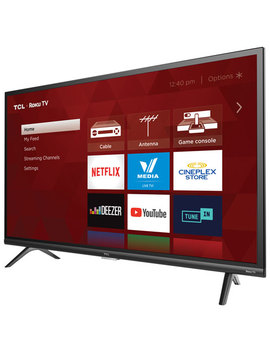 """Tcl 3 Series 32"""" 1080p Hd Led Roku Smart Tv (32 S327 Ca) by Best Buy"""