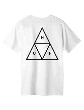 Huf Essentials Triple Triangle White T Shirt by Zumiez