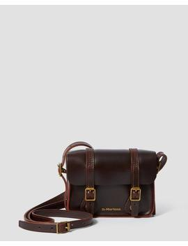 7 Inch  Leather Satchel by Dr. Martens