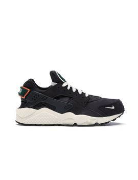 Air Huarache Run Oil Grey Rainforest by Stock X