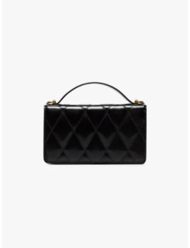 Black Quilted Leather Mini Bag by Givenchy