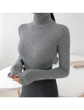 Hocus Pocus Knit Ruffle Skirt by Chuu