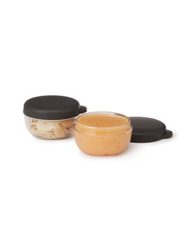 On The Go Dressing Containers   Set Of 2 by Uncommon Goods