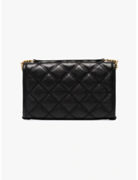 Black Becky Quilted Leather Bag by Saint Laurent