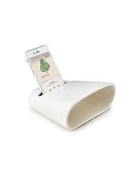 Ceramic Phone Amplifier by Heather And Myles Geyman