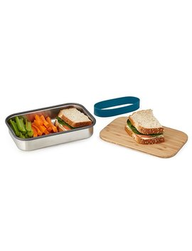 Lunch Box With Cutting Board Lid by Uncommon Goods