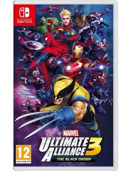 Marvel Ultimate Alliance 3 Nintendo Switch Game140/5525 by Argos