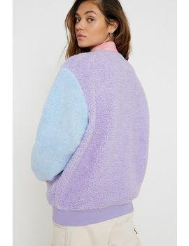 Lazy Oaf – Sweatshirt Aus Fleece In Colourblock Design In Pastelfarben by Lazy Oaf Shoppen