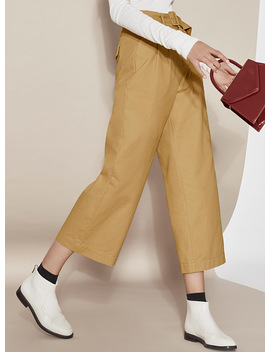 Brushed Chinos by Icône