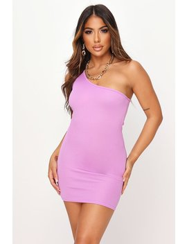 Violet One Shoulder Mini Dress by I Saw It First