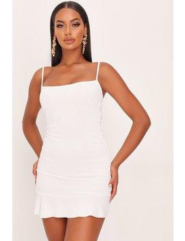 White Frill Hem Cami Dress by I Saw It First