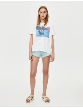 Tom And Jerry T Shirt by Pull & Bear