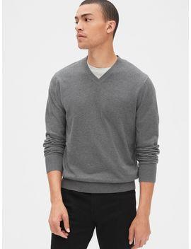Mainstay V Neck Sweater by Gap