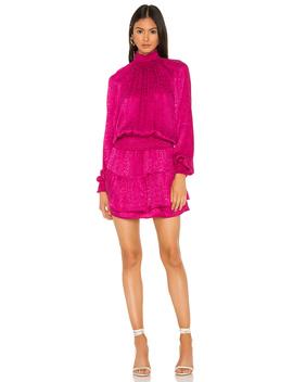 Smocked Turtleneck Dress by Krisa