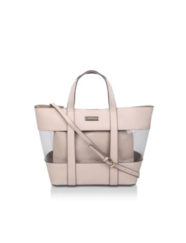 Perspex Tote With Pouch Tote Bags by Carvela
