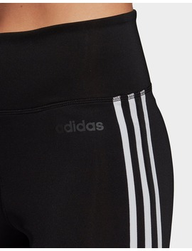 Adidas Performance Design 2 Move 3 Stripes High Rise Long Leggings by Jd Sports